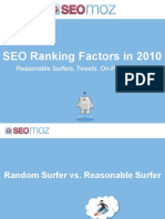 SEO Ranking Factors 2010 SMX London