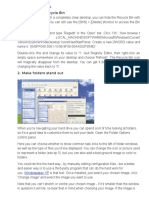 Windows XP Customisation.docx