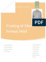 Costing of shirt