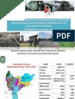 Paparan Arah Kebijakan Pengemb Wilayah Kalbar Dan Perbatasan Di Ptk Tgl 12 Nop 2015
