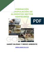 Manual Curso Manipulacion Alimentos Hosteleria
