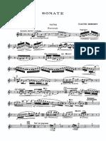 Debussy Trio Sonata