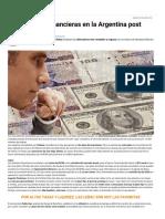 7 Inversiones Financieras en La Argentina Post Default - Infobae