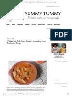 YUMMY TUMMY_ Village Syle Fish Curry Recipe _ Gramathu Meen Kuzhambu Recipe