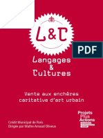 Catalogue Langages et cultures