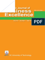 Academic Journal of Business Excellence 1 2016