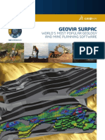 GEOVIA Surpac Brochure