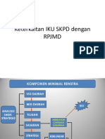 Keterkaitan IKU SKPD Dengan RPJMD