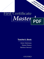 First Certificate Master Class With Key