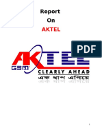 23772357 Report on Customer Satisfaction of Aktel
