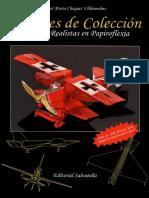 Aviones de Coleccion (Aviones de origami)