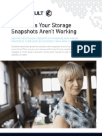 5 Reasons Your Storage Snapshots Arent Working