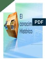 El Conocimiento Historico