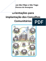 Material Dos Conselhos Comunitários - Cartilha