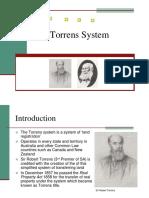 Torrens System