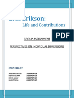Erik Erikson_Life and Contribution