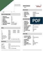 Ikarus Checkliste C42 HB-WAS Entwurf