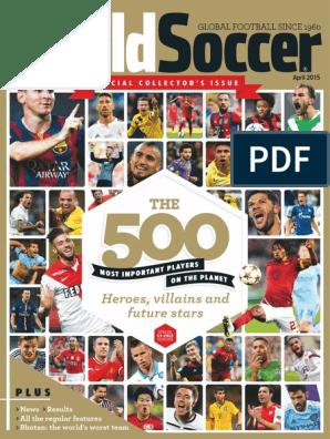 World Soccer - April 2015