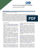 ARTÍCULO - Evaluación Código Ética Ingniería