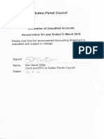 sutton pc unaudited accounting statements 2016