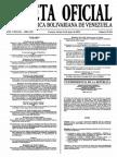 Sumario Gaceta Oficial 39.424