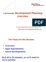 Personal Development Progress File