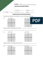 graph of functions 2.doc | Quadratic Equation | Variable (Mathematics)