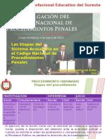 Las Etapas Del Sistema Acusatorio en El Código Nacional de Procedimientos Penales