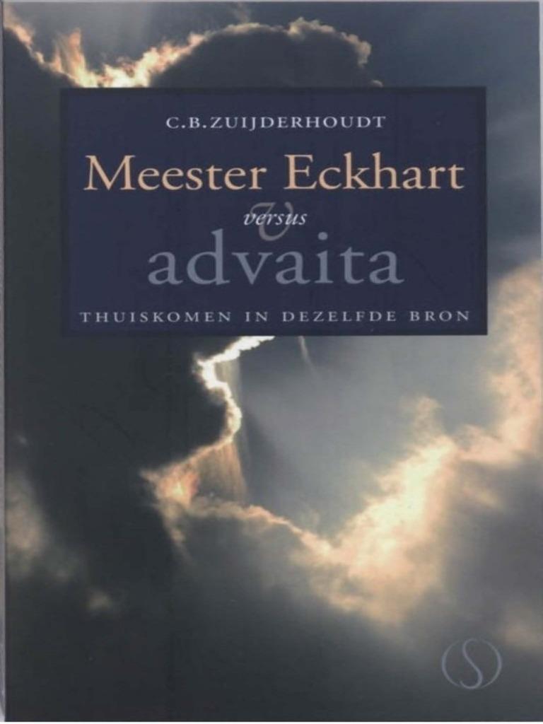 Cb Zuiderhoudt Meester Eckhart Versus Advaita
