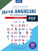 Jezyk Angielski Dla Gimnazjalisty Gramatyka-lingo-Demo