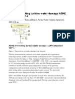 ASME Preventing Turbine Water Damage ASME Standard TDP-1