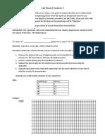 06 - lab report analysis - speed