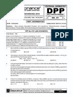 Revision Plan-II (Dpp # 1)_chemistry_english