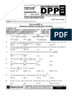 Revision Plan-II (Dpp # 4)_mathematics_english