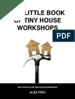 2015 Tiny House Workshops Catalog