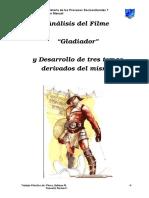 Análisis de La Pelicula Gladiador