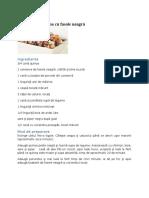 Mâncare de Quinoa Cu Fasole Neagră