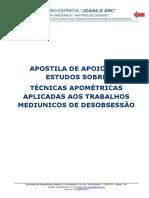 APOSTILA - APOMETRIA A LUZ DA DOUTRINA ESPÍRITA V-04-2015