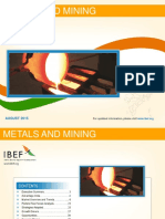 Metals and Mining August 2015