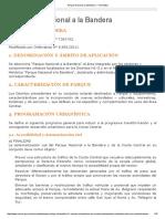 Parque Nacional a la Bandera — Normativa.pdf