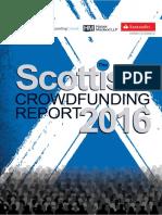 The Scottish Crowdfunding Report 2016