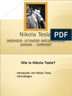 Nikola Tesla Intro power point presentaiton