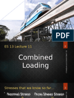 Lec 11 (Combined Loading)