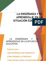 Tema 5b1 2PS-Ensenanza-Aprendizaje en La SE
