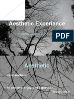 Aesthetic Experience 01