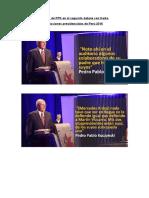 Frases de PPK en El Segundo Debate Con Keiko