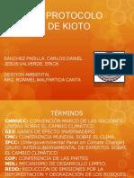 El Protocolo de Kioto Final