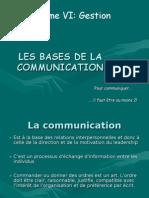 Gestion 5 (Communication)