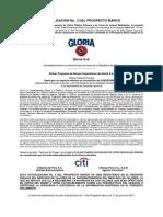 GLORIA 1BC5 6 Prospecto Marco Actualizacion