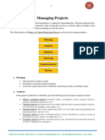 Managing Projects (Compiled & Formatted by Mansoor Ali Seelro)